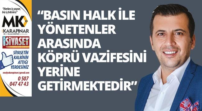 Ali Atlı'dan basın bayramı mesajı