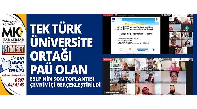 ESLP'nin Son Toplantısı çevrimiçi gerçekleştirildi