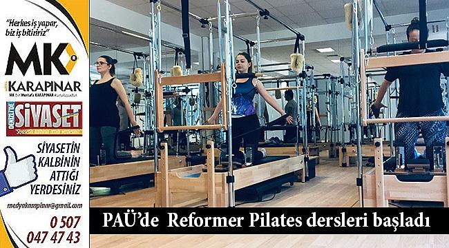 PAÜ'de Reformer Pilates dersleri başladı