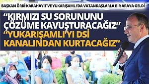 Başkan Örki vatandaşlarla bir araya geldi