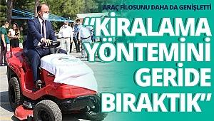 Pamukkale Belediyesi araç filosunu daha da genişletti
