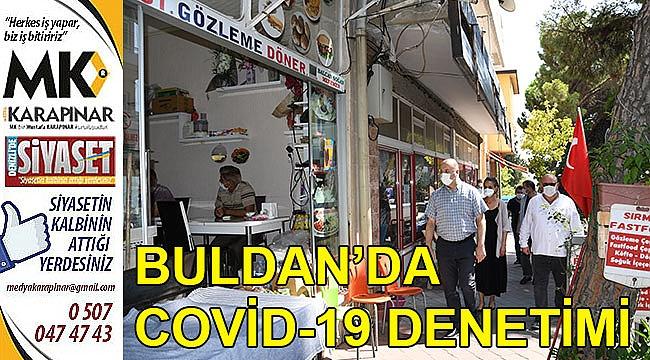 Buldan'da Covid-19 Denetimi