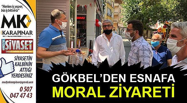 Gökbel'den esnafa moral ziyareti