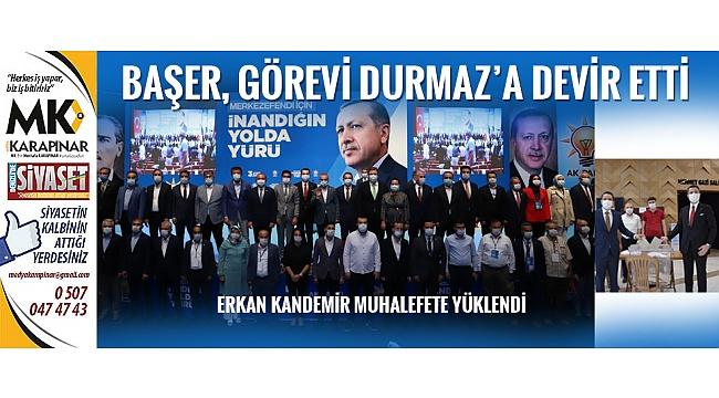 AK Parti Merkezefendi'de bayrak değişimi yaşandı