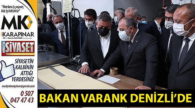 Bakan Varank Denizli'de