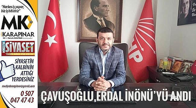 Çavuşoğlu,Erdal İnönü'yü vefat yıl dönümünde andı