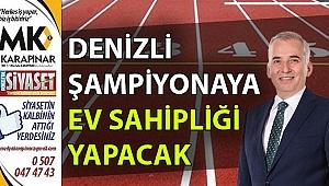 Denizli, Türkiye Kros Şampiyonası'na ev sahipliği yapıyor