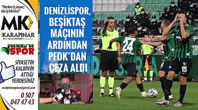 Denizlispor, PFDK'dan ceza aldı
