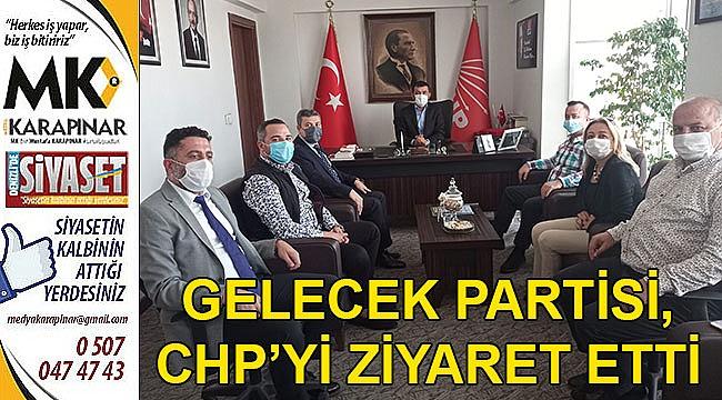 Gelecek Partisi, CHP'yi ziyaret etti