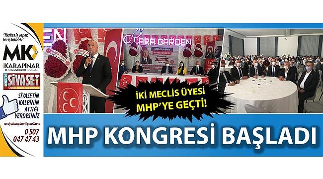 MHP kongresi başladı