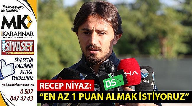 Niyaz, Beşiktaş maçı hakkında açıklamalarda bulundu