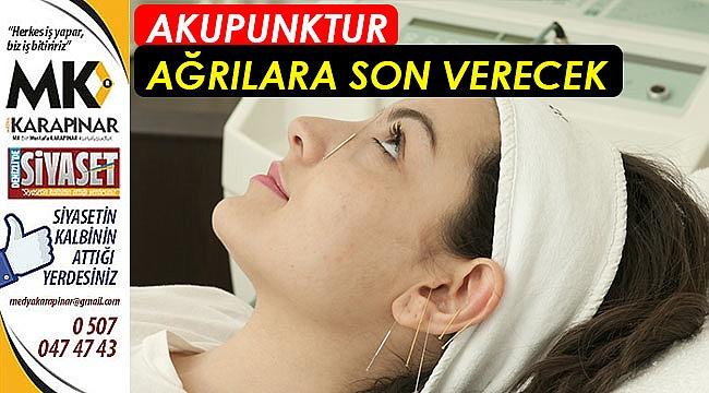 Akupunktur ağrılara son verecek