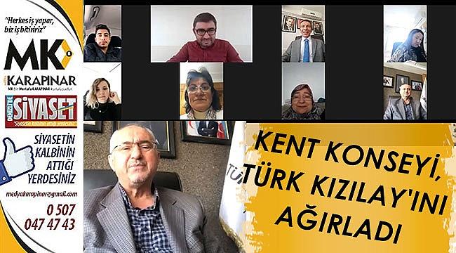 Kent Konseyi, Türk Kızılay'ını Ağırladı