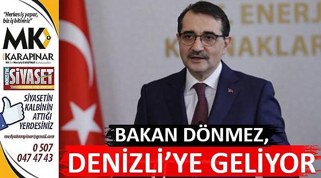 Bakan Dönmez'in Denizli programı belli oldu