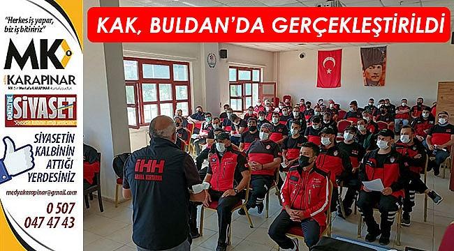 KAK, Buldan'da gerçekleştirildi
