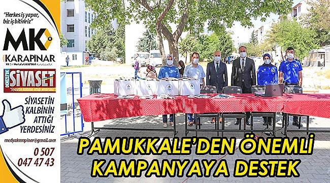 Pamukkale'den önemli kampanyaya destek