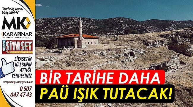 Tabae Kazı Çalışmaları, PAÜ'ye Verildi