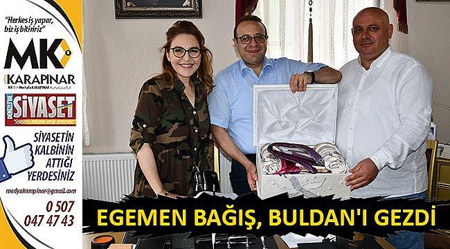 Egemen Bağış, Buldan'ı gezdi