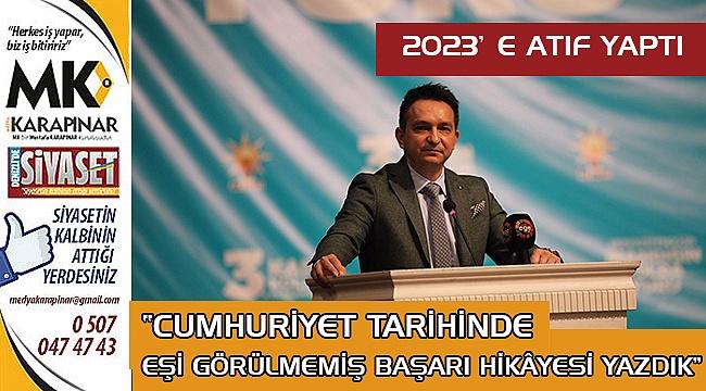 Fatih Durmaz: 2023'e atıf yaptı