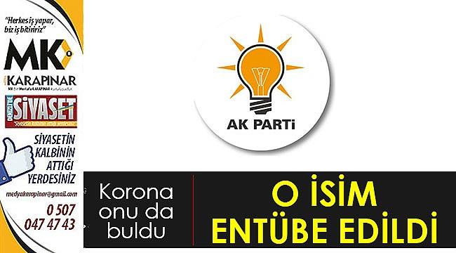 AK Partili isim entübe edildi