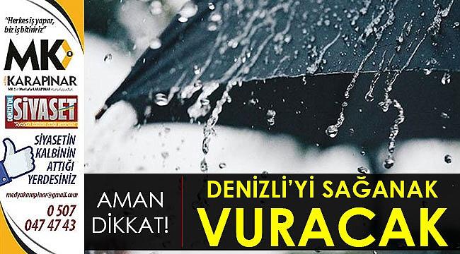 Şemsiyesiz dışarı çıkmayın!