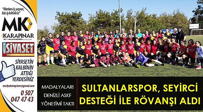 Sultanlarspor, seyirci desteği ile rövanşı aldı