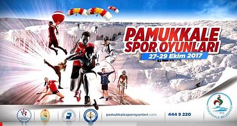 Pamukkale Spor Oyunları için geri sayım başladı